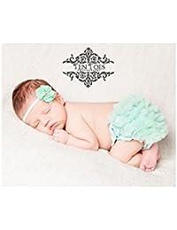 Culotte cache couche bébé 0 à 2 ans, modèle Little froufrou 0/ 3 mois,3/9 mois,9/18 mois ,9/18 mois