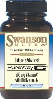 Swanson Ultra PureWay-C with Bioflavonoids (500mg, 90 Capsules) by Swanson Health Products