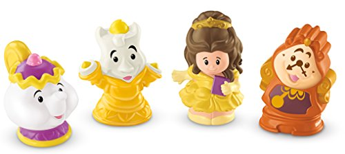 Princess Figuren Set Belle und ihre Freunde -4 teiliges Figuren Set (Disney Belle Princess)