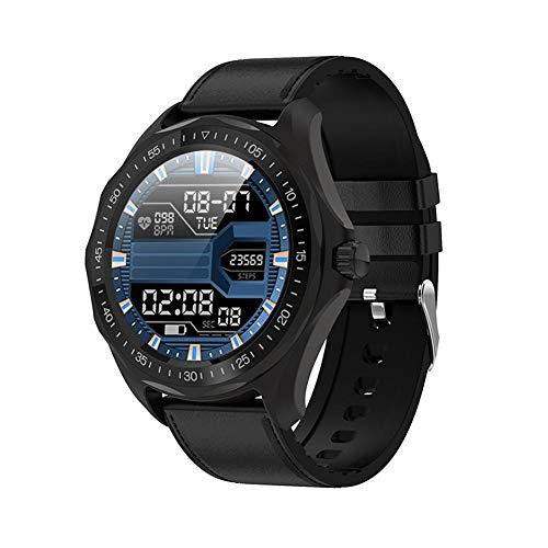 cypressen Smart Watch Promemoria Impermeabile per Uomo con Touchscreen Rotondo IP68 Smart Watch per SENBONO S09