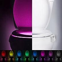 LED igienici, colorato sensore di movimento igienici luce di notte,
