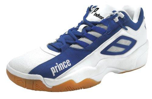 Prince NFS Tour Attack Chaussures d'Intérieur - Blanc/bleu