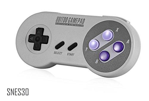 SNES30 - Classic Wireless Bluetooth Game Controller - 8Bitdo