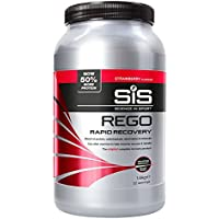 Science in Sport Rego Rapid Recovery Protein Shake, Strawberry, 1.6 kg, 32 Servings