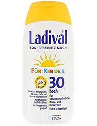 LADIVAL Kinder Sonnenmilch LSF 30, 200 ml