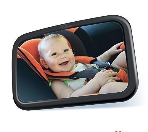 Rücksitzspiegel für Baby   Sicherheitsspiegel für Babyschalen   Extra Gross   Einstellbar und Bruchsicher