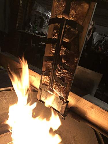 Flammlachsbrett Flammlachs Brett Lachsbrett Lachs Grillen Feuerschale Grill
