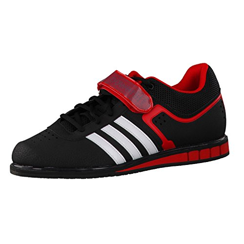 Adidas Herren Gewichtheberschuhe Powerlift II black/white/red 50 2/3