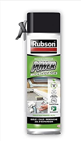 Rubson Mousse expansive Power - 500 ml - Blanc