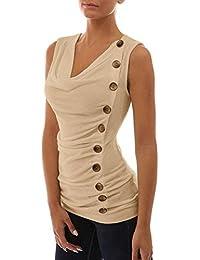 fc20d28574d2 Freestyle Estivo Donna di Colore Solido Taglie Forti Sweatshirt Sottile  Camicie Bluse T-Shirt Casual
