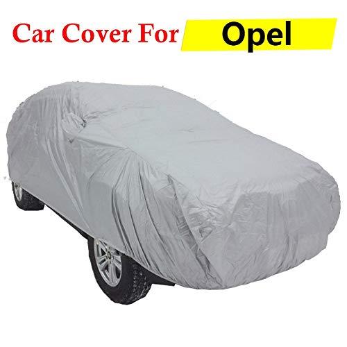 ERQINGCZ Wasserdichte Autoabdeckung Auto Abdeckung Anti-Uv Outdoor Sun Shield Schnee Regen Kratzfeste Abdeckung Für Opel Astra Vectra Mokka Zafira Omega