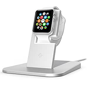 Twelve South HiRise (Lade-)Station für Apple Watch – silber