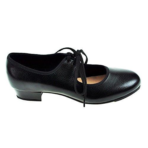 Bloch S0330 Zeitschritt Schwarz Low Heel PU Hahn-Schuh 5 L