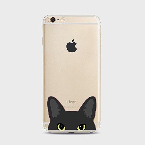 Coque iPhone 6 6s Housse étui-Case Transparent Liquid Crystal Chiens en TPU Silicone Clair,Protection Ultra Mince Premium,Coque Prime pour iPhone 6 6s-style 1 Chiens-7