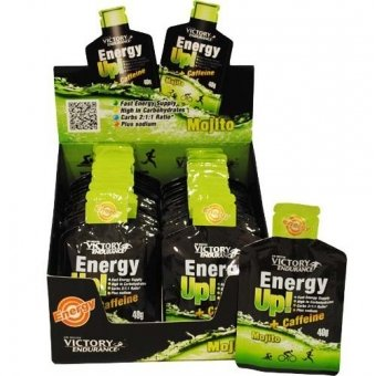 Weider Victory Endurance, Energy Up Gel y Cafeína, Mojito - 960 gr