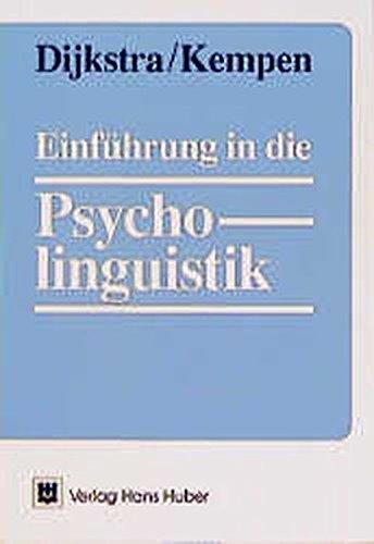 Einführung in die Psycholinguistik