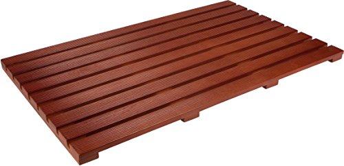 Innovationen Aus Holz (Trademark Innovations 80cm Holz Teak Massiv Rutschfeste Spa Dusche Oder Fußmatte)