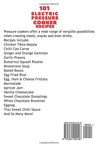 41pAJTSaCbL - 101 Electric Pressure Cooker Recipes (UK Version): 101 Delicious Recipes For Your Electric Pressure Cooker