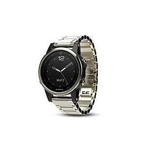 41pAJXclHeL. SS300  - Garmin 010-01685-15 Fenix 5S Sapphire GPS Multisport Smartwatch