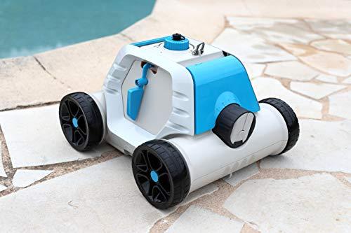 Bestway - Robot électrique autonome de piscine Thetys avec batterie rechargeable pour piscines à...