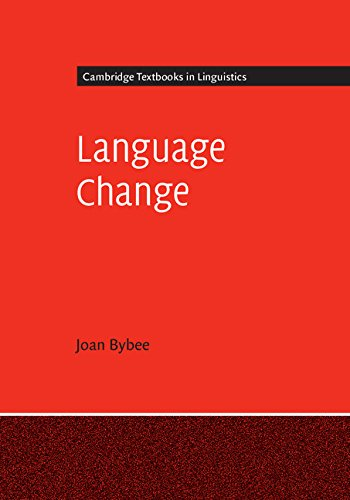 Language Change (Cambridge Textbooks in Linguistics)