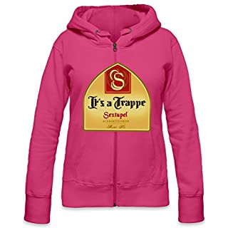 It's A Trappe Womens Zipper Hoodie X-Large