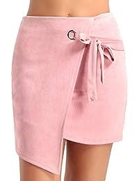 7ba91cbbf6f3 Suchergebnis auf Amazon.de für: Lederrock Lederrock - Damen: Bekleidung
