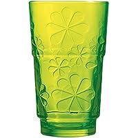 Luminarc Funny Flowers - Set 6 vasos altos 27 cl Green Funny Flowers