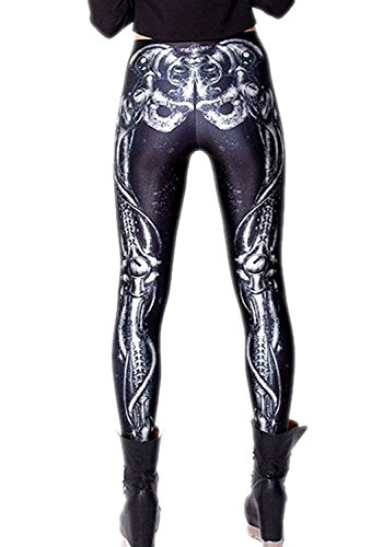 Tamskyt Damen Leggings One size Dark Bionic Legs
