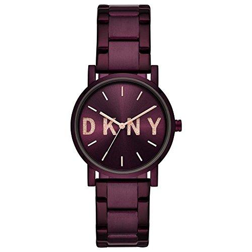 DKNY Orologio Analogico Quarzo Donna con Cinturino in Acciaio Inox NY2766