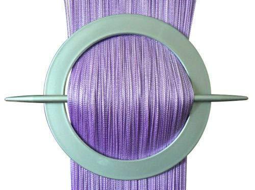 Inox Trade Rideau Rideaux à Franges Rideau de Porte Rideau à Franges 100 x 200 cm Violett