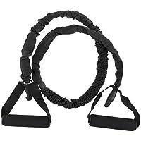 Homyl Bandas Elásticas de Resistencia Elástica Ejercicio Yoga Pilates Entrenamiento Físico - Negro