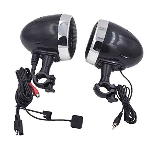 Preisvergleich Produktbild MagiDeal Motorrad Bluetooth Lautsprecher Eingebauter 300W D-Class-Verstärker Zubehör