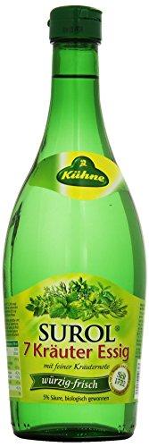 Kühne Surol 7 Kräuter Essig, 750 ml