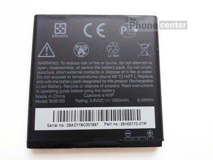 TBC© Original Batteria HTC BA S640 BI39100 35H00170-00/m per HTC Sensation XL/HTC/Titan 1600mAh Bulk /