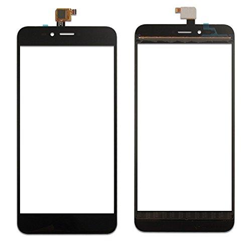 Ersatzglas für Wiko Upulse Lite Displayglas Glas Touch Screen Digitizer Schwarz Touch Scheibe Reparatur Ersatzteil