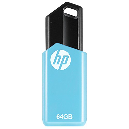 HP V150W USB 2.0 64GB Utility Pen Drive (Blue)