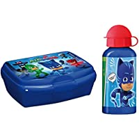Unbekannt PJ Masks Pyjamahelden 2 tlg. Set Trinkflasche + Brotdose Frühstücksdose Lunchbox Brotbox Brotbüchse preisvergleich bei kinderzimmerdekopreise.eu