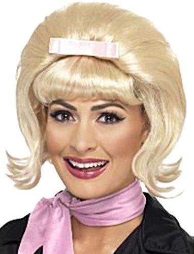 Zauberclown - Damen Perücke 50er Jahre Vintage, Blond (Tot 50er Jahre Mädchen Kostüm)