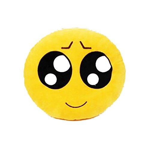 LEORX Cuscino di Emozione Stile Rotondo Morbido