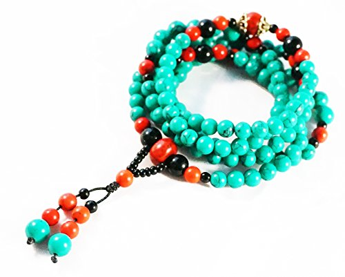 tibet-buddhist-turquoise-prayer-beads-bracelet-necklace-mala-93-cm