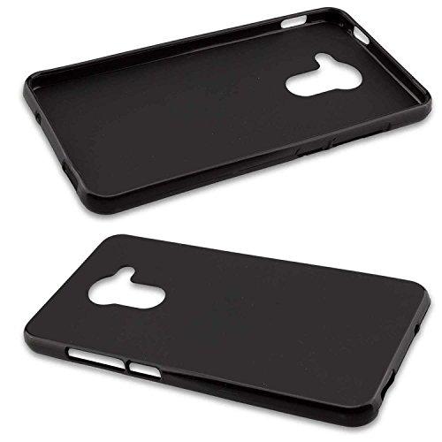 caseroxx TPU-Hülle für Vodafone Smart Platinum 7, Tasche (TPU-Hülle in schwarz)