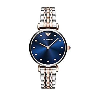 Emporio Armani Analog Blue Dial Women's Watch-AR11092