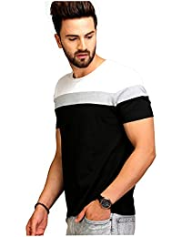 AELO Men's Cotton T-Shirt (Aelotshirt1021-P)