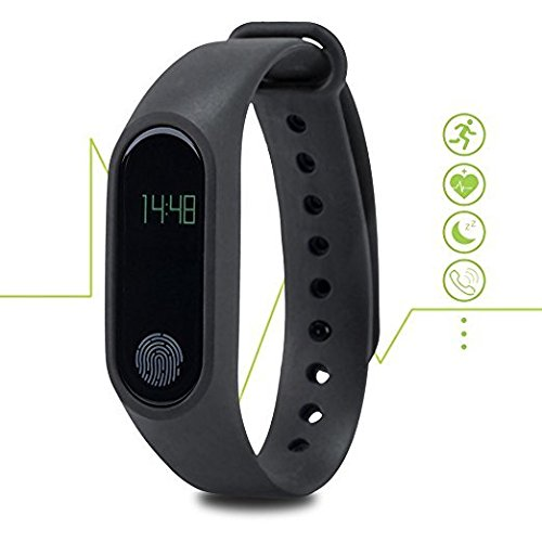 Bingo M2 water proof Smart fitness Band compatible with Bluetooth or Heart Rate sensor