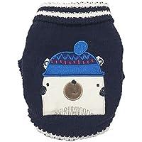 Kennella Traje del Perro de Perrito de Navidad Chenilla suéter del Perrito de Otoño Invierno