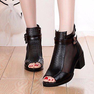 Sandales femmes Printemps PU Confort Beige Noir Gris Casual Gray