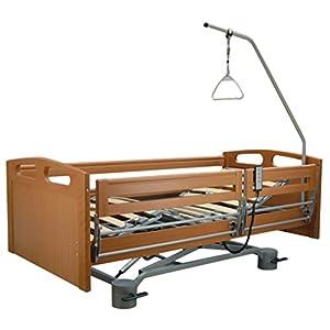 Pflegebett/Krankenbett, Scherenheber PB 536, inkl. Motor, 100×200 cm