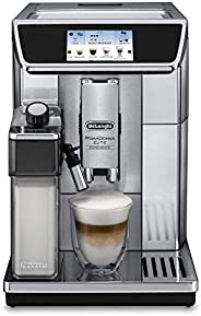 De'Longhi PrimaDonna Elite Fully Automatic Coffee Machine, Silver, ECAM650.8