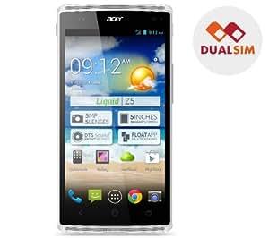 ACER Liquid Z5 - blanc - Smartphone dual sim + Carte microSD 16 Go High Speed Class 10 + mini lecteur USB 2.0